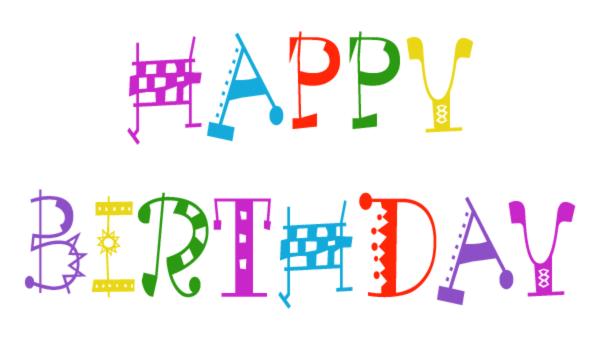 free happy birthday clip art &