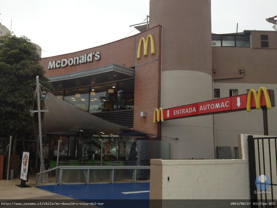McDonalds in Valparaiso