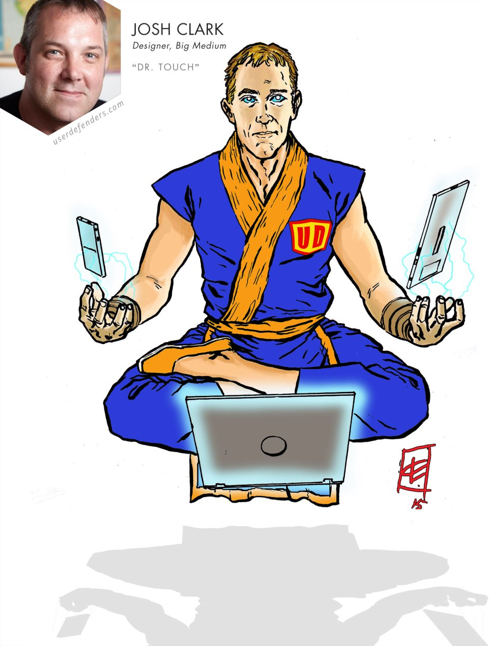 "User Defenders ""Dr. Touch"" Josh Clark"