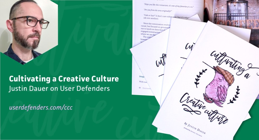Cultivating a Creative Culture with Justin Dauer
