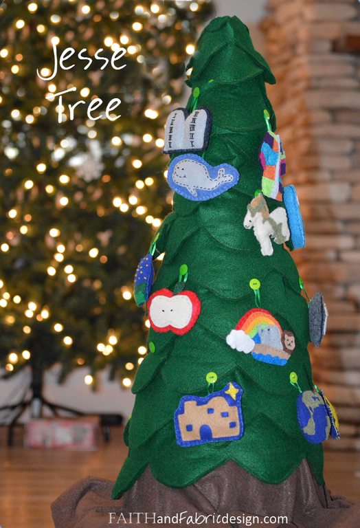 Jesse Tree patterns and reflections for kids and all ages