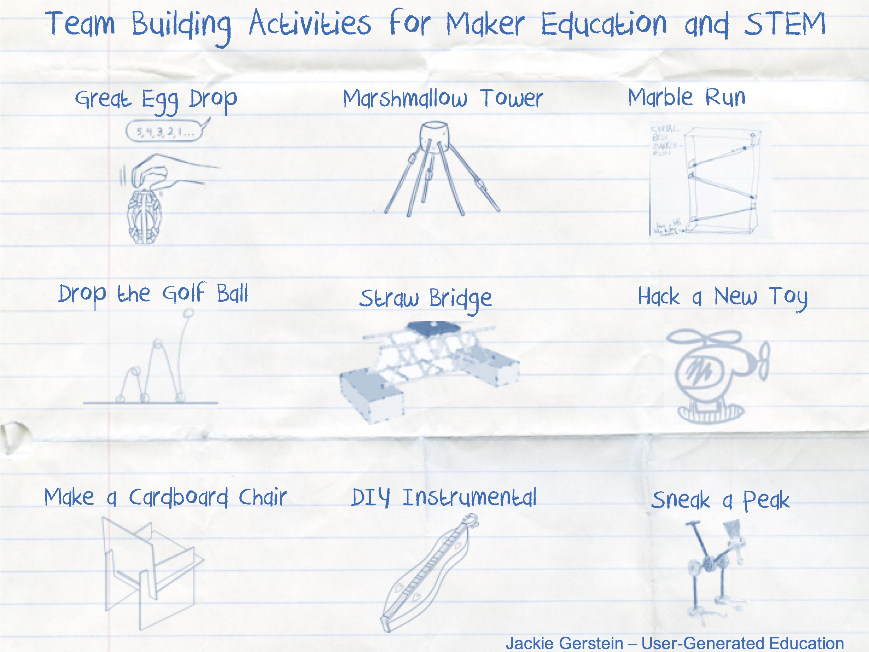 Team Building Activities That Support Maker Education