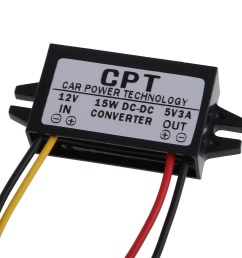 details about cpt ul 1 dc to dc converter regulator 12v to 5v 15w car led display power supply [ 1000 x 1000 Pixel ]