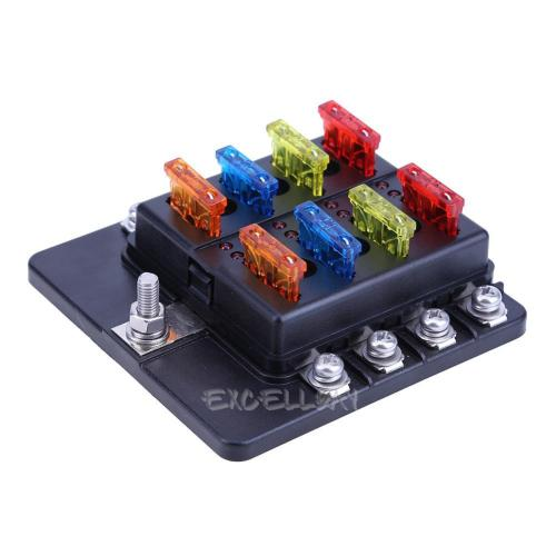 small resolution of details about 8 way led terminal circuit auto car boat ato atc blade fuse box block holder 32v