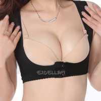 Women's Chest Bra Holder Back Posture Corrector Breast ...