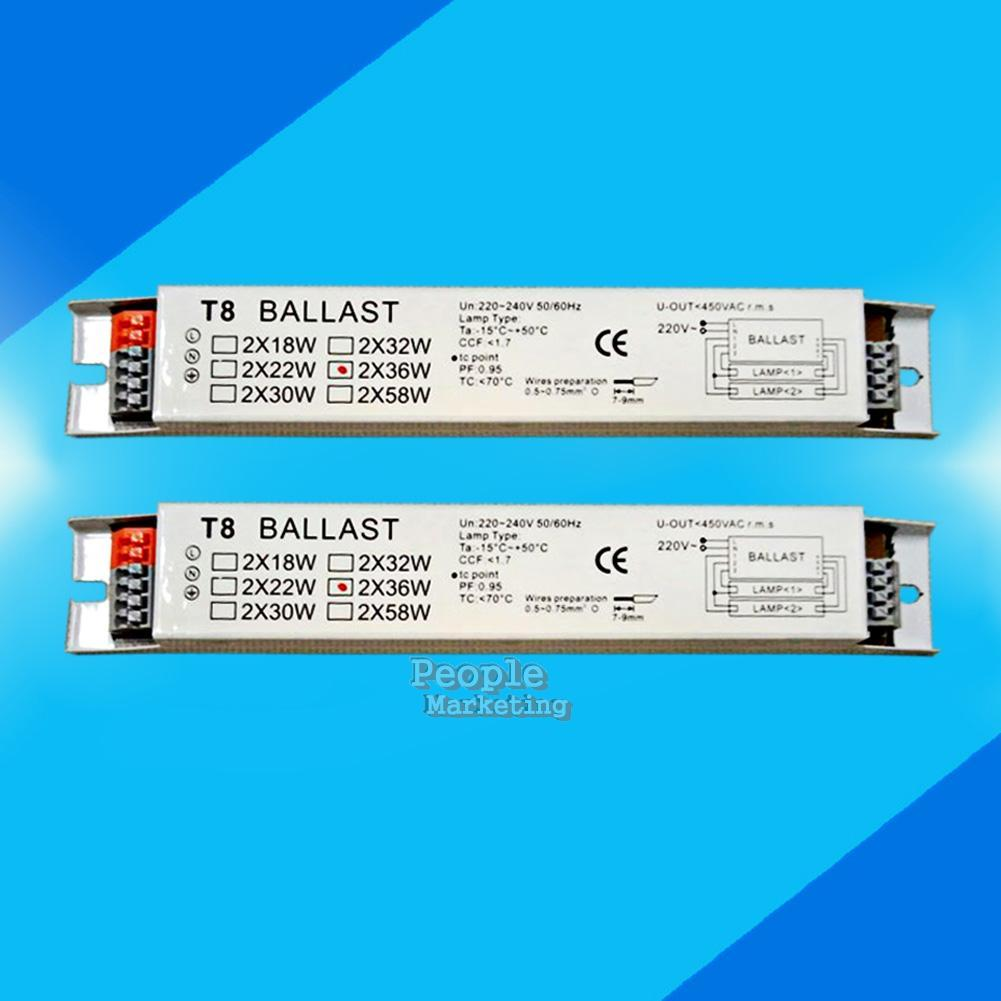 Ballast With A More Efficient T8 Electronic Ballast Could Be A Better