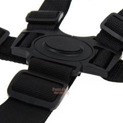 Wheelchair Seat Belt X Rocker Gaming Chair Audio Cables 5 Point Baby Kids Harness Strap Portable For
