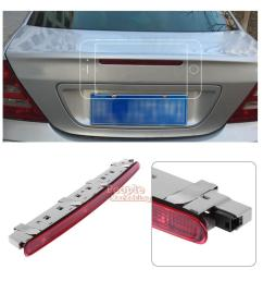 details about for benz w203 c180 c200 c230 c280 c240 c300 rear trunk led car stop brake light [ 1001 x 1001 Pixel ]