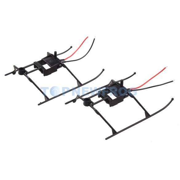 2x Landing Skid with Wire for WLtoys V911 4CH RC