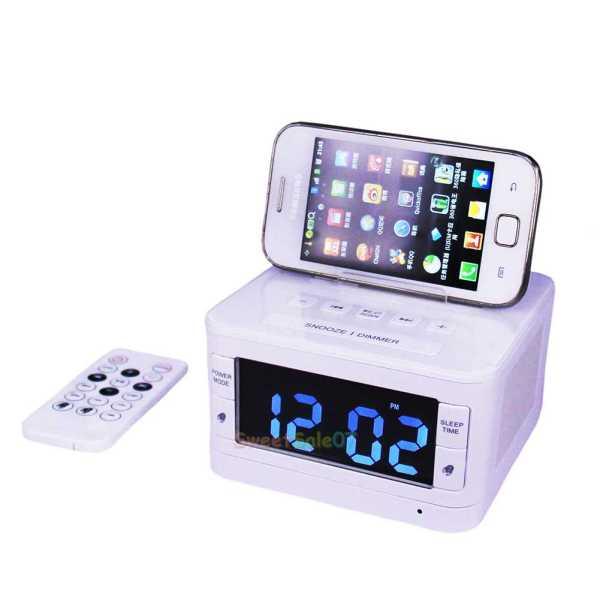 Samsung Docking Station with Alarm Clock