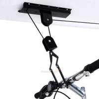 Bike Bicycle Lift Ceiling Mounted Hoist Storage Garage ...