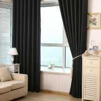 2Pcs Blackout Heavy Thick Grommet Window Curtain Panel ...