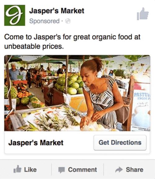 Jaspers Market using the curiosity gap