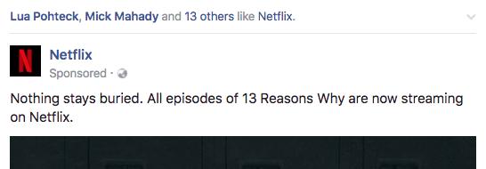 Wisdom of friends Facebook ads