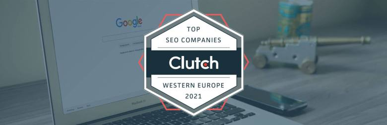 User Growth rewarded top SEO company Western Europe by Clutch