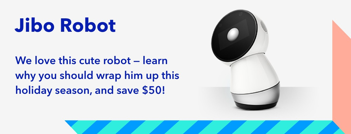 50 off a Jibo robot
