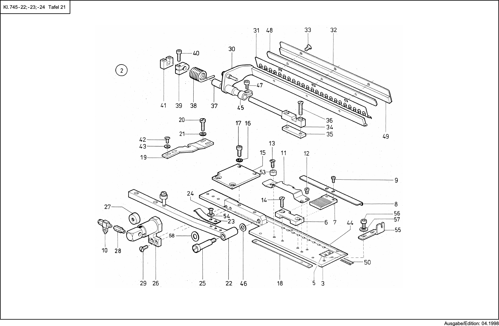 Stromlaufplan Motor Ack