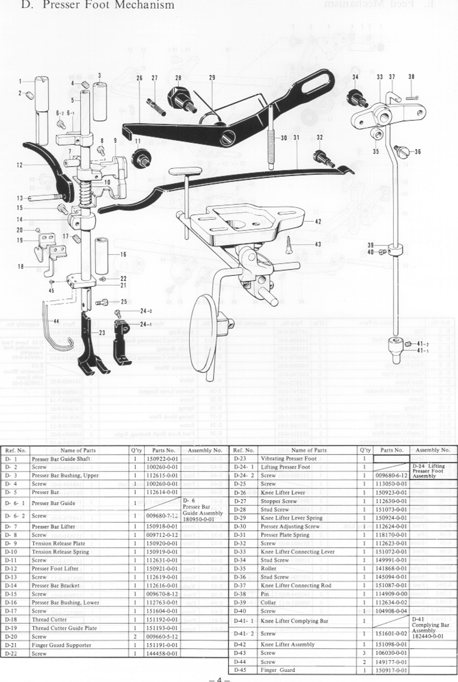 ACE&EASTMAN Lt2 B838 Parts Book User Manual