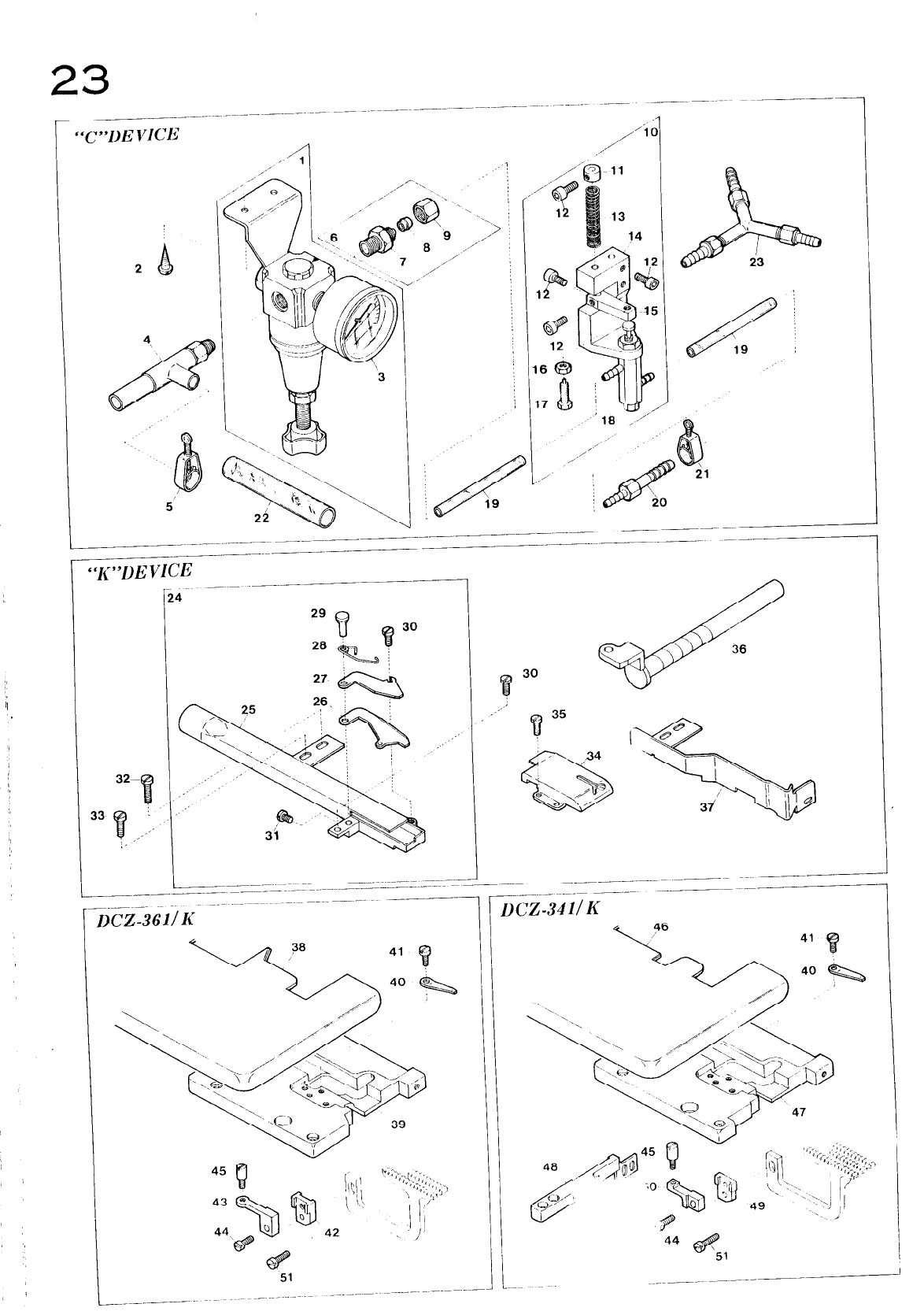 YAMATO DCZ 361 INSTRUCTION MANUAL
