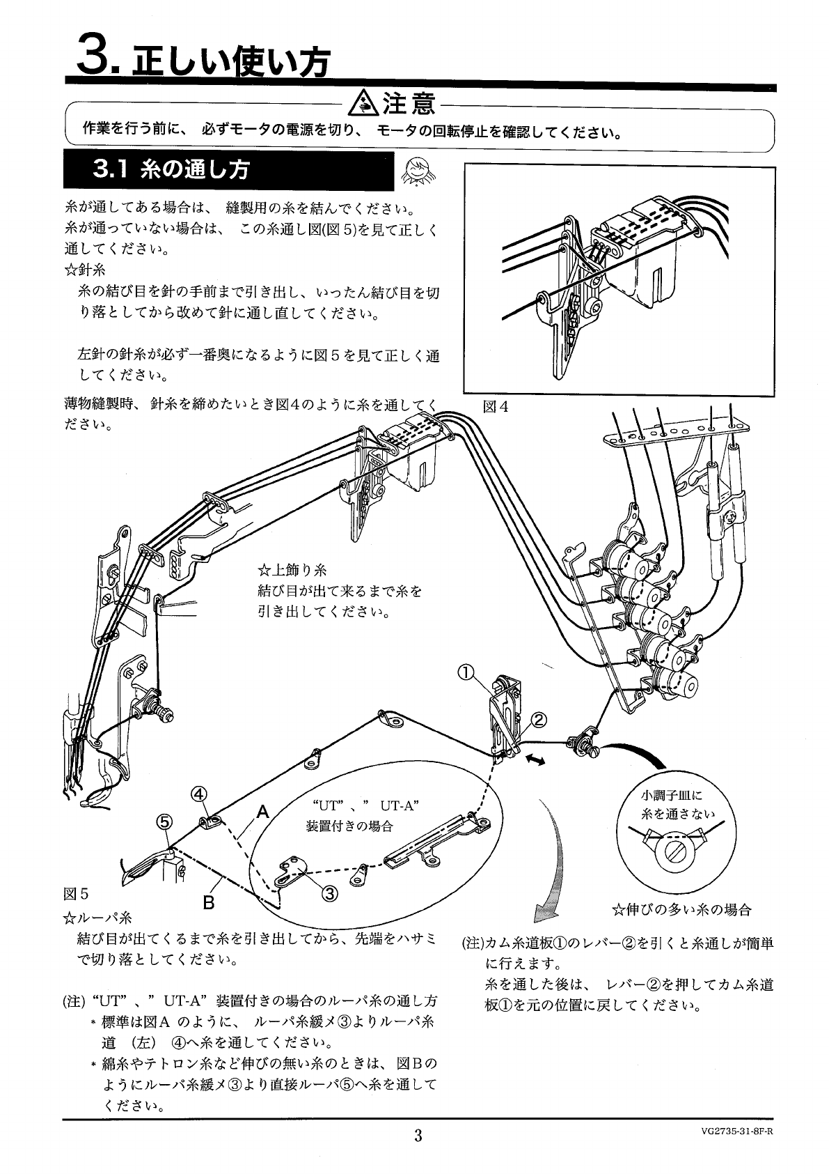 Yamato Vg Instructions And Parts Book