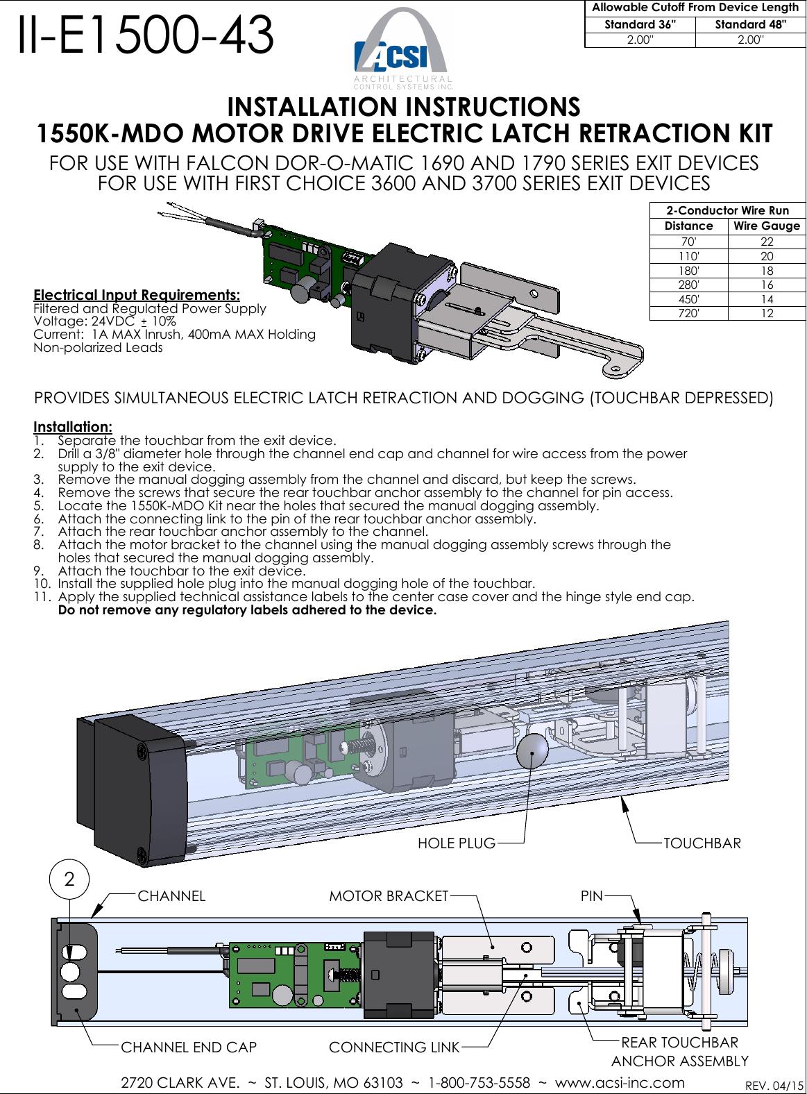 110 Electrical Wiring Diagram Acsi Ii E1500 43 1550k Mdo 2015 04 Falcon Dor O Matic 1690
