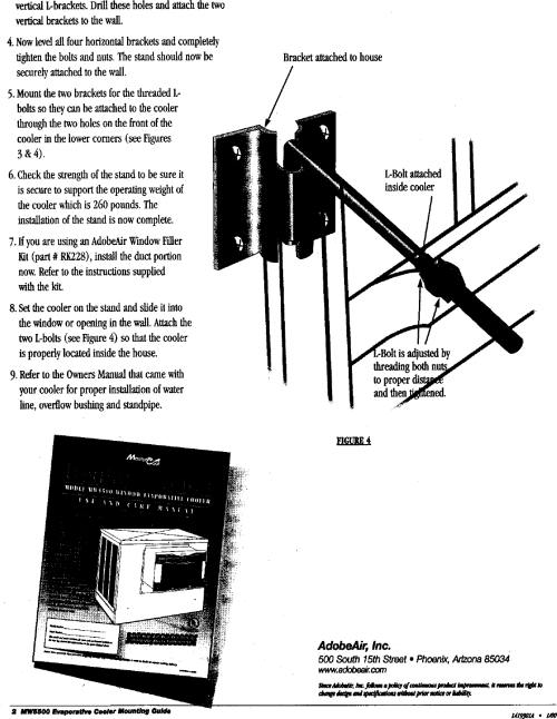 small resolution of page 2 of 2 adobeair evaporative cooler manual l0406098