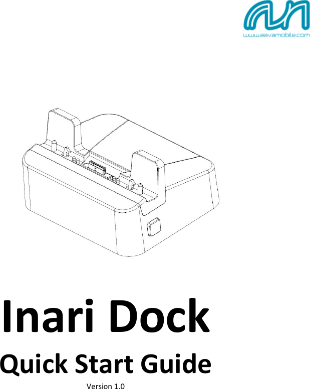 Aava Mobile IN020101 Docking station for INARI81 Tablet