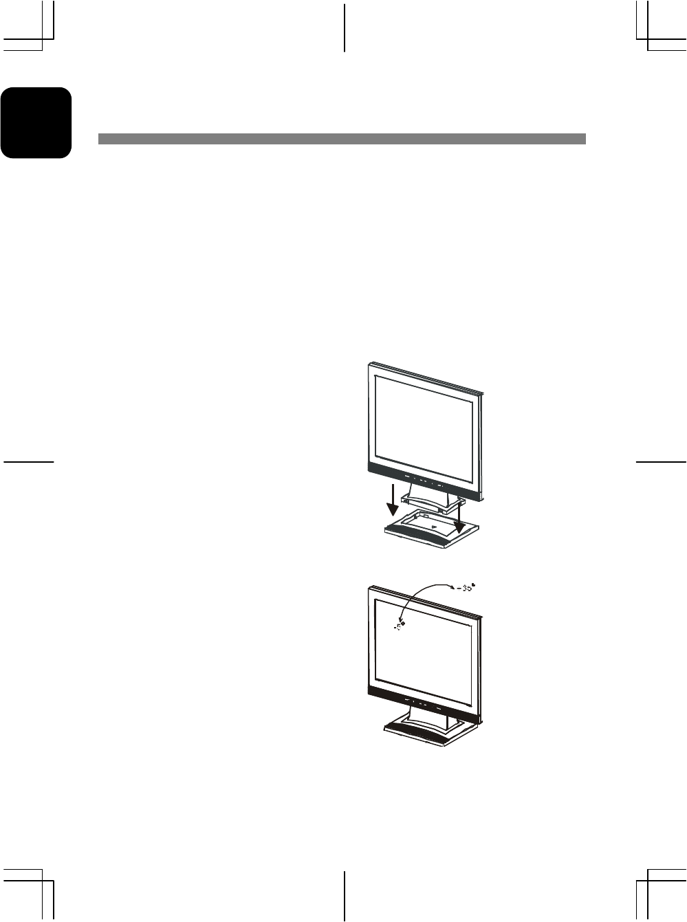 Acer Lcd Monitor Users Manual AL 511 User