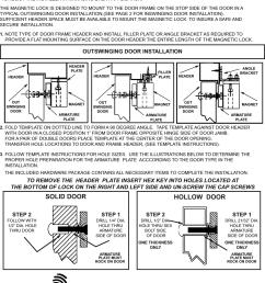 1200d mag lock wiring diagram [ 1197 x 1561 Pixel ]