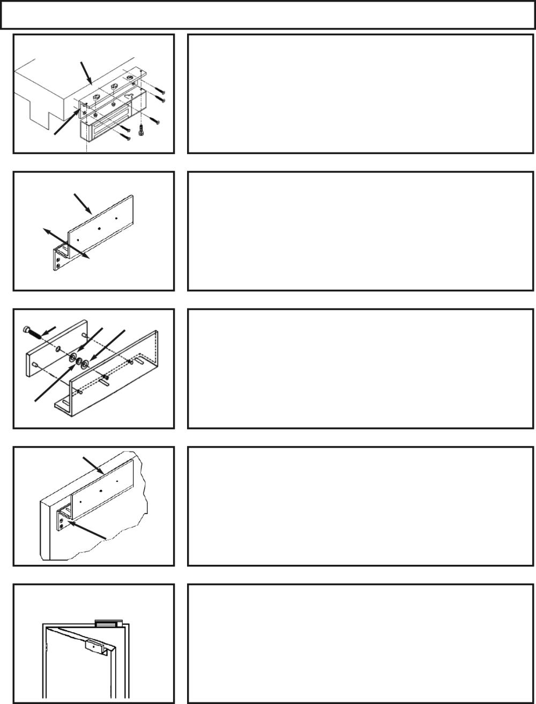 medium resolution of inswinging door installation with l z bracket