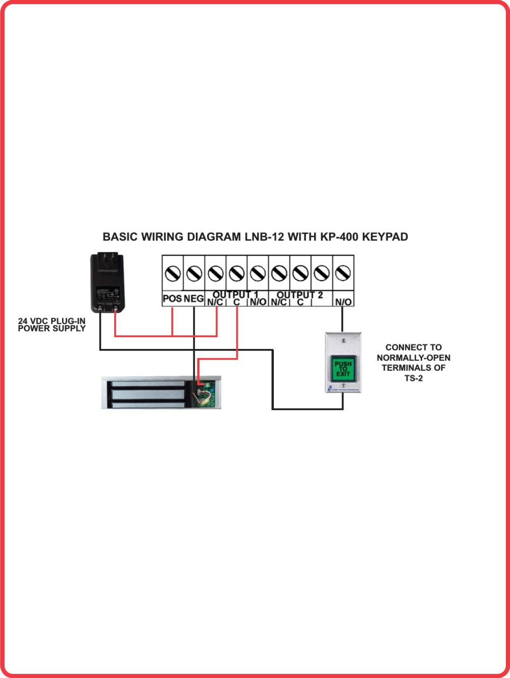 medium resolution of alarm controls lnb 12 basic wiring diagram with kp 400 keypadkeypad wiring diagram 12