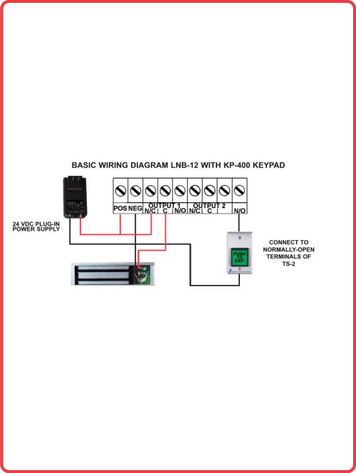 small resolution of alarm controls lnb 12 basic wiring diagram with kp 400 keypadkeypad wiring diagram 12