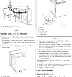 page 9 of 12 alliance awne82sp113tw01 installation instructions user manual washer manuals and guides [ 1131 x 1530 Pixel ]