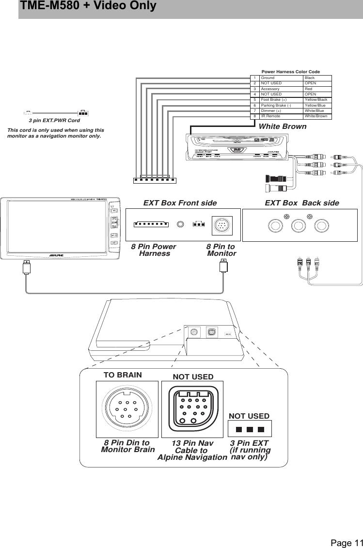 Alpine Tme M580 Users Manual OM (3/11/02)