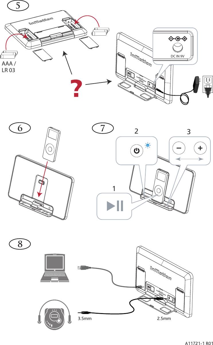 Altec Lansing Inmotion Im500 Users Manual A11721 1 R01 IN QCC