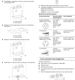 page 8 of 12 amana aep222vaw1 user manual 20 electric freestanding range manuals and [ 1125 x 1537 Pixel ]