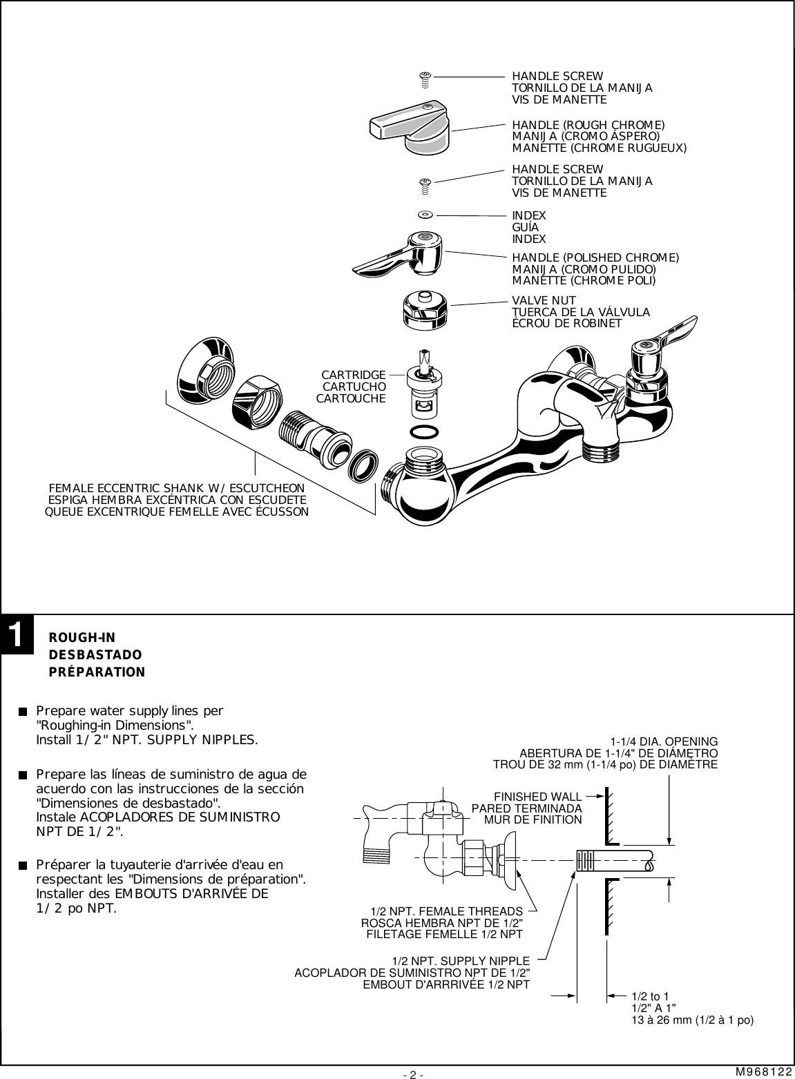 American Standard 8340 235 002 Users Manual