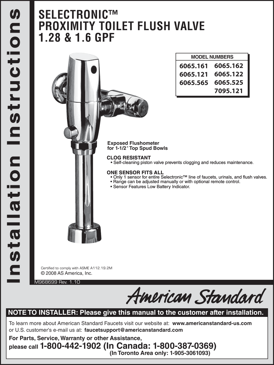 hight resolution of page 1 of 9 american standard american standard selectronic 6065