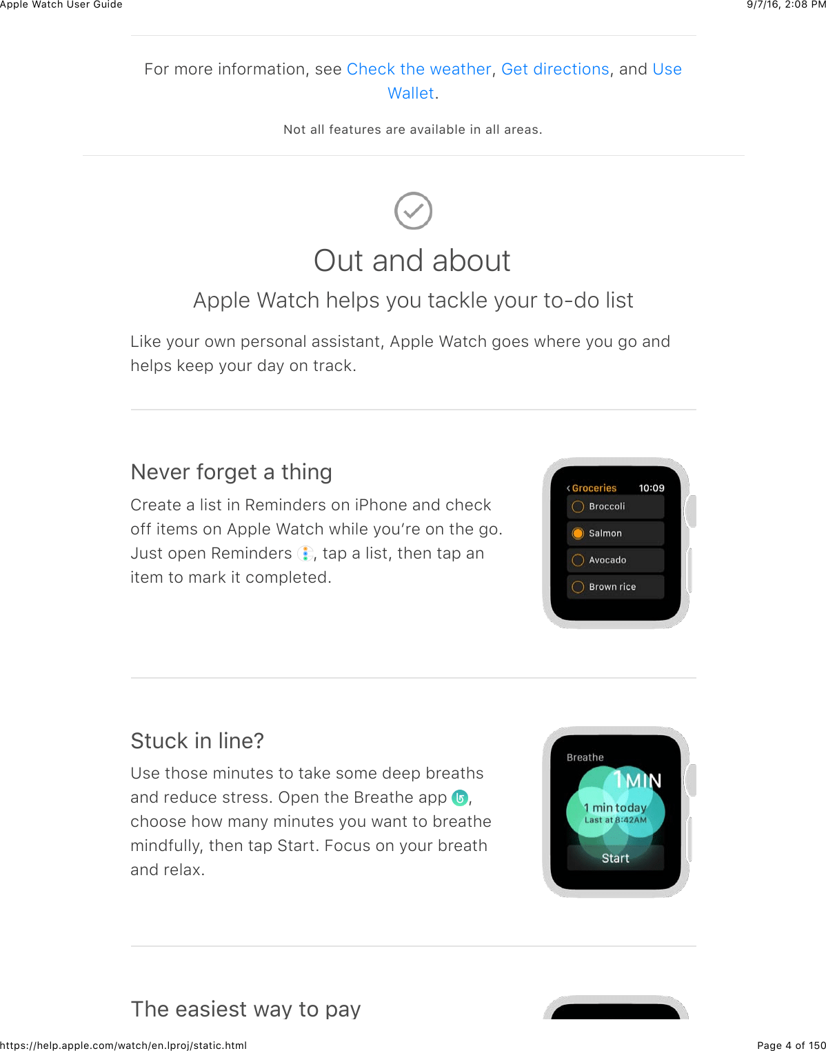 Bestseller: Apple Watch Instruction Manual