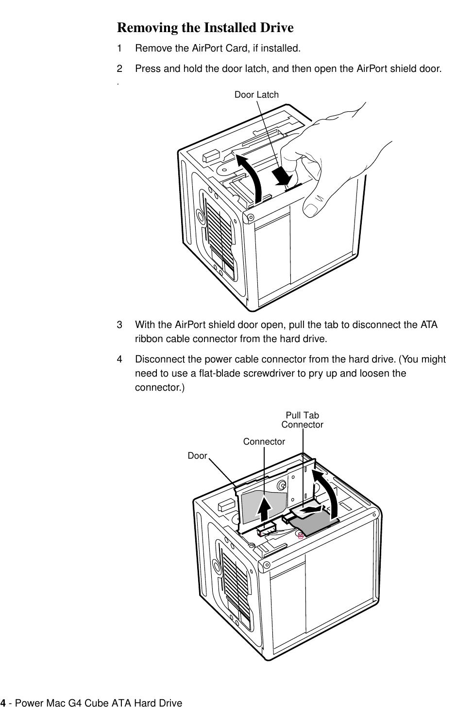 Apple PowerMacG4(Cube) User Manual Power Mac G4Cube