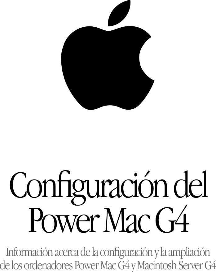 Apple Power Mac G4 (Gigabit Ethernet) E1000.G4 User Manual