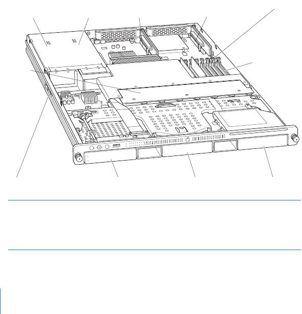Apple Xserve (Anfang 2008) Installation User Manual 2008