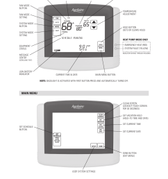 page 10 of 12 aprilaire aprilaire thermostat 8600 users manual  [ 925 x 1375 Pixel ]