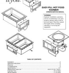 apw wyott hot food warmer users manual apw wyott wiring diagrams [ 1095 x 1408 Pixel ]