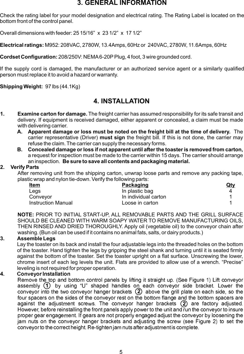 medium resolution of page 5 of 12 apw wyott apw wyott m95 2
