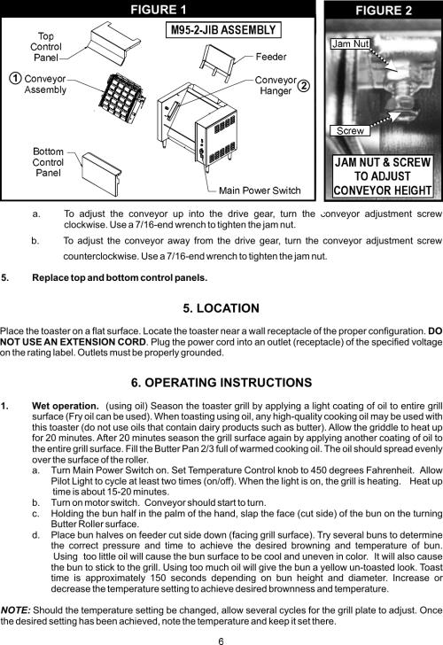 small resolution of page 6 of 12 apw wyott apw wyott m95 2