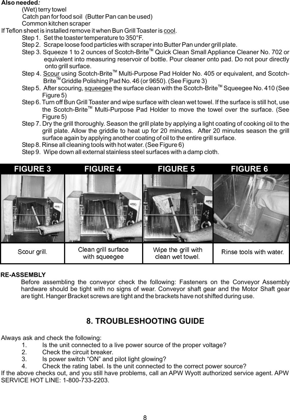 medium resolution of apw wyott m95 2 jib users manual a wyott m95 wiring diagram