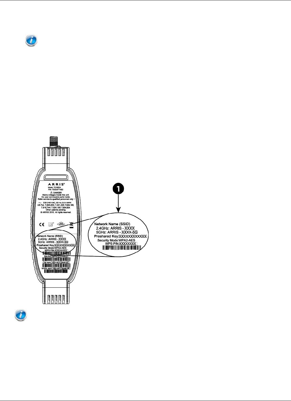 Arris TG1652A User Manual TG1652A: Guide