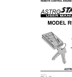 page 1 of 12 astrostart astrostart rs 113 users manual 193 [ 1442 x 1125 Pixel ]