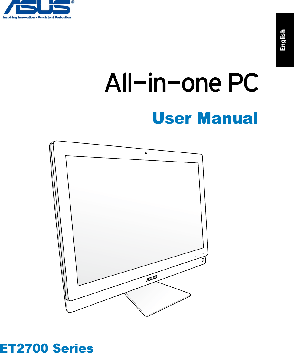 Asus Eeetop Et2700 Users Manual